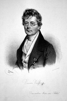 Biedermeierzeit:  Josef Kriehuber Portrait of the composer Simon Se...