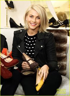 Julianne Hough: Store Opening Events!