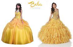 Vestidos de Debutantes Inspirados nas princesas disney