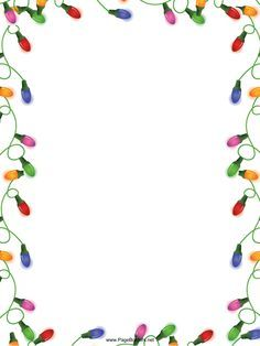 Great for Thanksgiving, this free, printable orange border is ...