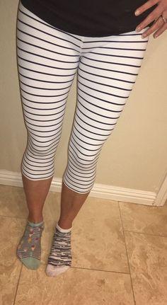 ❤️Lululemon quiet stripe Crop Sz 4❤️ | Clothing, Shoes & Accessories, Women's Clothing, Athletic Apparel | eBay!