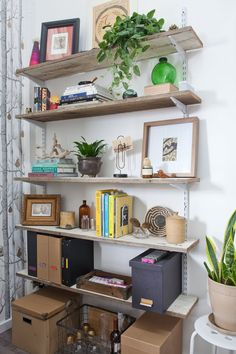 Jeanetta & Brian's Incredible Shared Space Creative Workspace Tour | Apartment Therapy