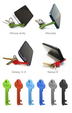Keyprop: a key sized smartphone stand #cool