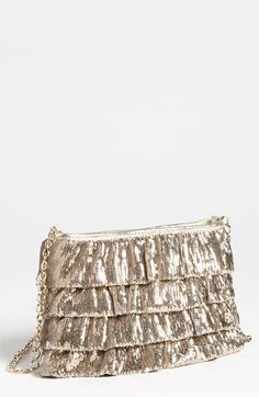 RED Valentino Sequin Shoulder Bag available at #Nordstrom