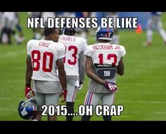 New York Giants 2015. The G Men and Brut Force meets the Unstoppable Objects!!!! We're Coming to your Community and Stadium Soon!!!!