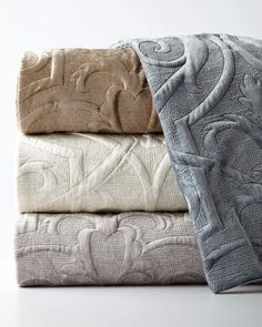 Shop King Troyes Rayon Velvet Coverlet from Callisto Home at Horchow, where you'll find new lower shipping on hundreds of home furnishings and gifts. Linen Pillows, Linen Bedding, Bed Linens, Boho Pillows, Bedroom Cushions, Linen Bedroom, Rustic Bedding, Velvet Duvet, Natural Bedding