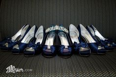 Everyone LOVES their shoes on their wedding day! Capture your precious shoes with your bridesmaids! It makes for a great shot!