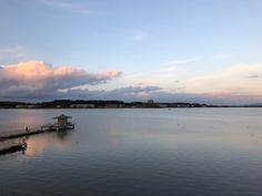 sunset 柴山潟 Shibayama lagoon