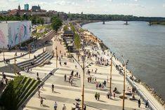 Vistula Boulevards by RS Architektura Krajobrazu « Landscape Architecture Works | Landezine #landscapearchitecturepark