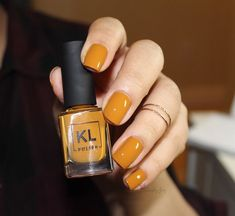 KL Polish Caramello by Kathleenlights
