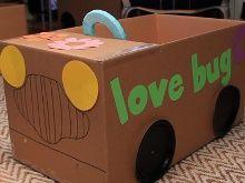 cardboard car sample