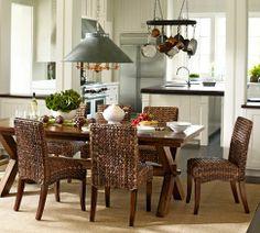 Toscana Extending Rectangular Dining Table | Pottery Barn