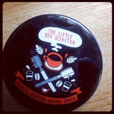 Take a stand against the evils of mug rings on your polished table with a ceramic coaster