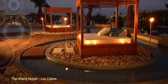 The Grand Mayan Hotel and Resort in Los Cabos,  Luxury Resorts - Ipe deck