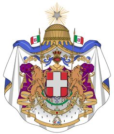 Coat of Arms of the Kingdom of Italy 1870