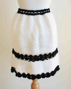 Watch the Monochrome Mini Skirt Pattern product review video! Monochrome Mini Skirt Pattern PA709 - Hip and sassy! Mini-skirts are back in style this spring. We used Paton's Grace yarn for our model.