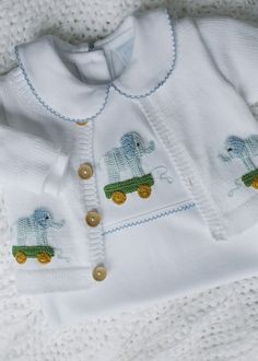 Boy Elephant Crochet Sweater - Little English, classic children's clothing, preppy children's clothing, traditional children's clothing, classic baby Kids Clothes Boys, Kids Outfits Girls, Baby Boy Outfits, Children Clothing, Crochet Playsuits, Elephant Sweater, English Clothes, Crochet Bebe, Boy Crochet