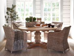 wicker + wood + stripes Lifestyle | Artwood