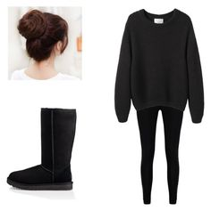 """Untitled #35"" by american-idi0t ❤ liked on Polyvore featuring Boohoo, La Garçonne Moderne and UGG"