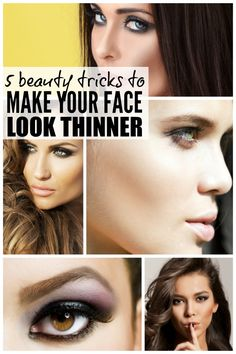 Want to look thinner without committing to a healthy diet, going for a workout, or (worse) giving up wine? ME TOO! And that's why she put together this list of easy make-up tricks that will teach you (and me!) how to make your face look thinner instantly. You're welcome!