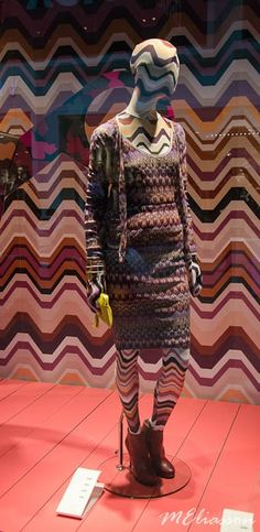Display window Missoni-Lindex collection http://www.meliasson.com/cooperation-missoni-lindex/#