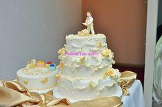 Tort de botez pentru Alexandra | Cadoul Tau Dulce Cake, Desserts, Food, Pie Cake, Tailgate Desserts, Pie, Deserts, Cakes, Essen