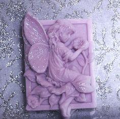 Lavender Soap  Decorative Gift Soap    Vegan by EnchantedBeehive, $5.25
