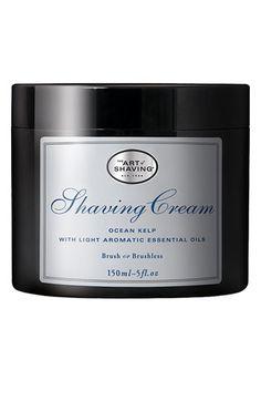 Art of Shaving Ocean Kelp shave cream // the best men's shaving cream w/a great new scent