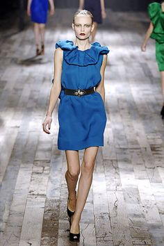 Lanvin Spring 2008 Ready-to-Wear Fashion Show - Olga Sherer
