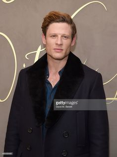 James Norton attends the Burberry Festive Film Premiere on November 3, 2015 in London, England.