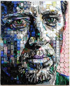 18 beautiful mosaics plastic of Zac Freeman