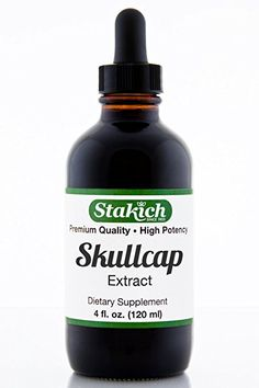 Stakich Skullcap (Scutellaria barbata) 4 oz Liquid Extract - Top Quality