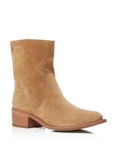 Tory Burch Siena Block Heel Ankle Booties | Bloomingdale's