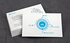 Superpower your business cards with NFC - instantly transfer data to a phone with a tap.
