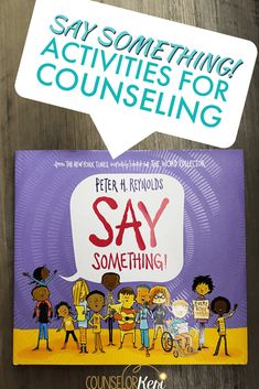 Looking for Say Something book activities for your counseling lessons? You'll love these 9 activities for classroom guidance or small group lessons! Kindness Activities, Counseling Activities, Book Activities, Camping Activities, Educational Activities, Elementary School Counselor, School Counseling, Elementary Schools, Group Counseling