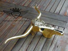Fresh Wanddekoration Wanddeko Geweih Figur Vergoldet Handarbeit Neu Alu Gold Gold Design D ren Pinterest Handarbeit und Gold