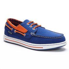 Men's Eastland New York Mets Adventure Boat Shoes, Dark Blue