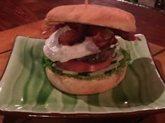 Classic cheeseburger with bacon and a fried egg