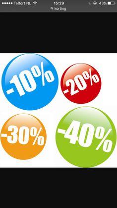 sales promotion // tijdelijke acties, zoals korting op een product