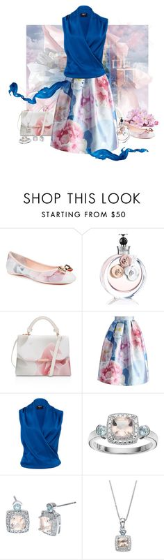 """""""Color Run"""" by love-n-laughter ❤ liked on Polyvore featuring Ted Baker, Valentino, Chicwish and Paule Ka"""