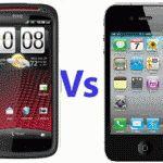 Compare HTC Sensation XE vs iPhone 4S
