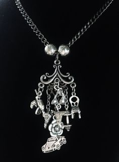 Kate & Curran Inspired Charm Necklace - Mating Dance
