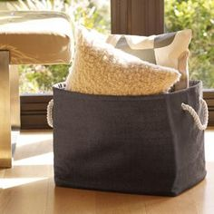 Jute Bins | The Container Store