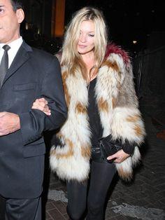 Kate Moss - London Fashion Week