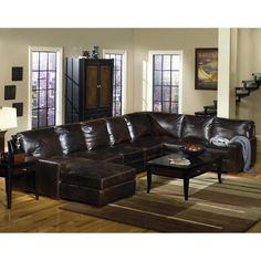 3PC9931TOBACCOSEC Tobacco Leather 3-Piece Sectional  sc 1 st  Pinterest : lawson 3 piece sectional - Sectionals, Sofas & Couches