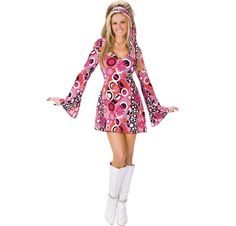 60s Feelin Groovy Womens Costume | THEMES