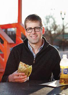 SCOTT BRODBECK picks the Steak Burrito at Pedro & Vinny's
