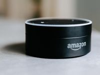 This smaller device that still packs the full Alexa voice assistant works best when used with an external speaker. Here& how to connect one to the Echo Dot wirelessly. Amazon Dot, Sell On Amazon, Amazon Echo, Amazon Alexa Echo Dot, Home Automation System, Smart Home Automation, Alexa Compatible Devices, Alexa Dot, Echo Speaker
