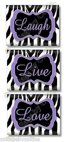Great phrase and plus... I LOVE ZEBRA PRINT!!!!!!