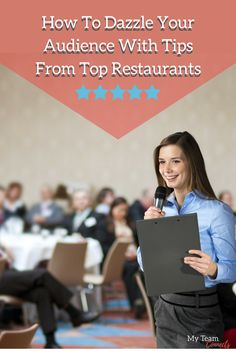 Want to set the table for a great speaking gig and dazzle your audience? Use these tips from gracious restaurateurs and hospitality professionals. Top Restaurants, Copywriting, Hospitality, Campaign, Content, Medium, Tips, Table, Blog
